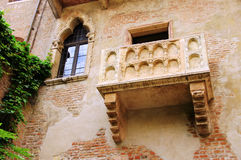 Verona-Balkon lizenzfreies stockfoto