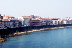 Verona bank view Stock Photography