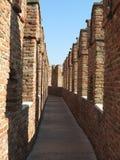 Verona - castelo medieval Fotos de Stock Royalty Free