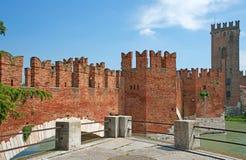 Verona Italy Castelvecchio Royalty Free Stock Photos