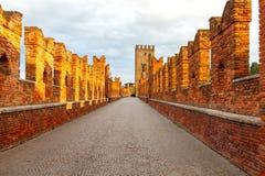 Verona. Castelvecchio Stock Photo