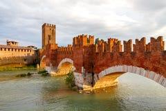 Verona. Castelvecchio Royalty Free Stock Images