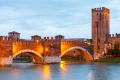 Verona. Castelvecchio Stock Photos