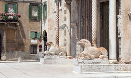 Verona Cathedral Stock Photo