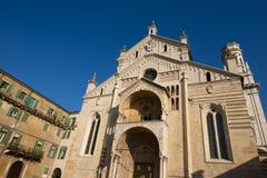 Verona Cathedral - Veneto Italy Royalty Free Stock Photography