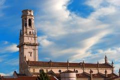 Verona Cathedral - Veneto Italy Royalty Free Stock Photos