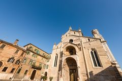 Verona Cathedral - Veneto Italy Europe Royalty Free Stock Photo