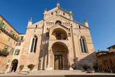 Verona Cathedral - Veneto Italy Europe Stock Photo