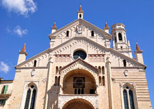 Verona cathedral. Royalty Free Stock Images