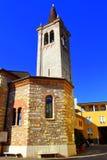 Verona church tower Royalty Free Stock Image