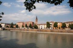 Verona Città Vecchia Fotografia Stock Libera da Diritti