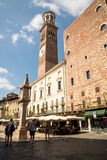 Verona. The city of love in Italy. Famous because of the drama & x22;Romeo and Juliet& x22; of William Shakespeare. Except the house of Juliet - la casa di Royalty Free Stock Photography