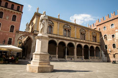 Verona. The city of love in Italy. Famous because of the drama & x22;Romeo and Juliet& x22; of William Shakespeare. Except the house of Juliet - la casa di Royalty Free Stock Images