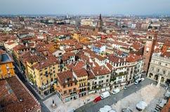 Verona cityscape, Italy stock photos