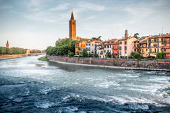 Verona cityscape view royalty free stock images