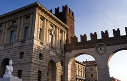 Verona the clock Stock Photography