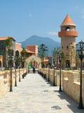 Verona Complex: Brücke und Turm Lizenzfreie Stockbilder