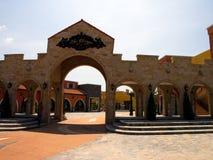Verona Complex: entranche Bogen Lizenzfreies Stockfoto