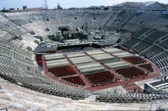 Verona - de Roman arena Stock Afbeeldingen