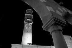 Verona di notte Fotografie Stock Libere da Diritti