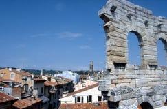 Verona - die römische Arena Stockfotografie