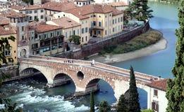 Verona, die Stadt weg von der Liebe lizenzfreies stockbild