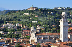 Verona hills Royalty Free Stock Image