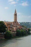 Verona historic center cityscape Royalty Free Stock Photography