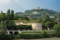 Verona historic center cityscape Stock Images