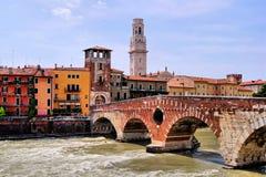 Verona histórica Imagen de archivo libre de regalías