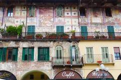 Verona house, Italy Stock Photo