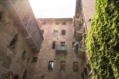 Verona the house of Juliet Stock Image