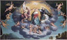 Verona - Incoronazione della Vergine - Coronation of hl. Mary Royalty Free Stock Photography