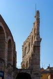 VERONA, ITALIË - MAART 24: Mening van de Arena in Verona Italy  Stock Afbeelding