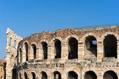 VERONA, ITALIË - MAART 24: Mening van de Arena in Verona Italy  Royalty-vrije Stock Foto