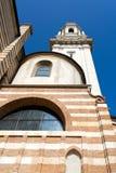 VERONA, ITALIË - MAART 24: Mening van Verona Cathedral in Verona It Royalty-vrije Stock Foto's