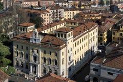 VERONA, ITALIË - MAART 24: Mening van Verona van Lamberti Towe Stock Foto's