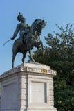 VERONA, ITALIË - MAART 24: Standbeeld van Victor Emanuel in Verona It Royalty-vrije Stock Afbeeldingen