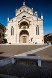 VERONA, Italia - 4 aprile 2017: Paesaggio urbano di Verona, Veneto Fotografie Stock Libere da Diritti