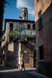 VERONA Italien - April 04, 2017: Cityscape av Verona, Veneto Royaltyfri Fotografi