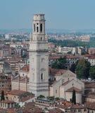 Verona Italien, katolska domkyrkor av Verona royaltyfria bilder