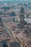 Verona Italien, katolska domkyrkor av Verona arkivbild
