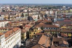 VERONA, ITALIEN - 24. MÄRZ: Ansicht von Verona vom Lamberti Towe Stockbilder