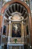 VERONA, ITALIEN - 24. MÄRZ: Innenansicht von Verona Cathedral herein Lizenzfreies Stockbild