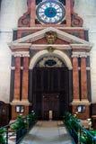 VERONA ITALIEN - MARS 24: Inre sikt av Verona Cathedral in Arkivbild