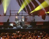 Verona, Italien - 14. Oktober 2017: Live Concert von Umberto Tozzi Stockfotografie