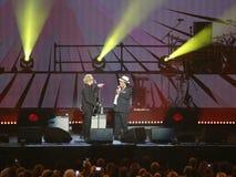 Verona, Italien - 14. Oktober 2017: Live Concert von Umberto Tozzi Stockfotos