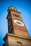Torre dei Lamberti in Verona Royalty Free Stock Images