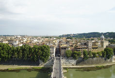 Verona, Italy. View over the bridhe to Verona, Italy Royalty Free Stock Images
