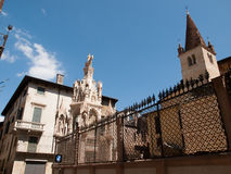 Verona,Italy. Arca di Cansignorio della Scala,Verona Royalty Free Stock Photography
